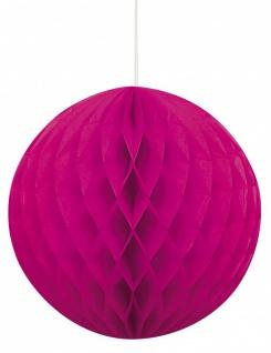 XXL 99 Teile Party Deko Set Neon Pink für 12 Personen - Vorschau 5
