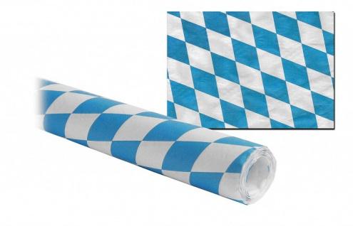8 Meter Papier Tischdecke Bayern Oktoberfest