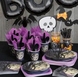 Halloween Tischdecke Atemlose Nacht - Vorschau 3