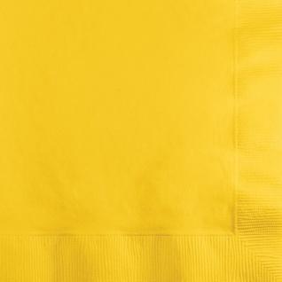 36 Teile Party Deko Set Sonnen Gelb für 8 Personen - Vorschau 3