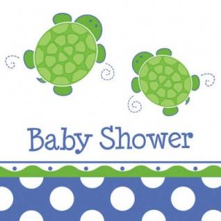 16 Baby Shower Schildkröten Servietten