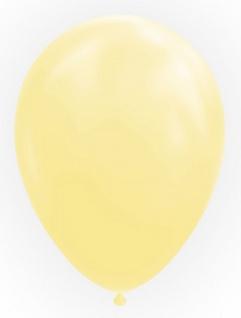 10 Luftballons in Creme oder Elfenbein 30cm
