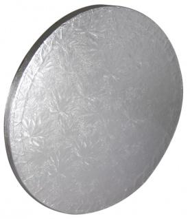 Tortenplatte Silber rund 25 cm