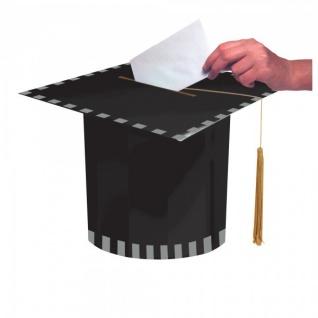 Abi Examen Glückwunschkarten Doktorhut Box