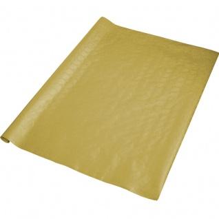 Papier Tischdecke in Gold - Damast Optik 8 Meter Rolle
