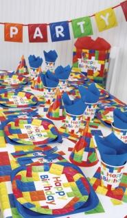 48 Teile Bausteine Geburtstags Party Set für 16 Kinder - Vorschau 5