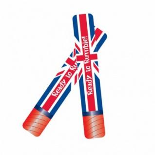 Folien Ballon Klatsch-Stäbe Großbritannien