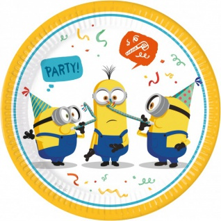 8 Papp Teller Minions Party