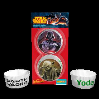 50 Star Wars Muffin Förmchen