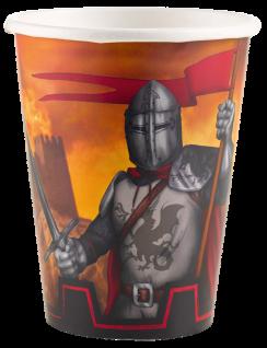 8 Becher Ritter