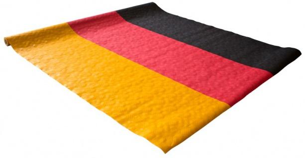 8 Meter Papier Tischdecke Deutschland Flagge