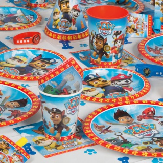 8 kleine Teller Paw Patrol Ready for Action 2