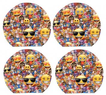 4 kleine Notiz Blöckchen Emoji