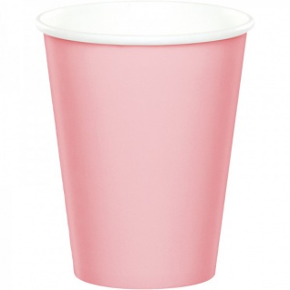 36 Teile Pink Chic Happy Birthday Party Deko Set in Rosa und Gold zum Geburtstag für 8 Personen - Vorschau 3
