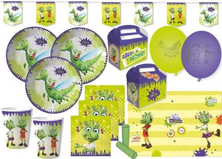 XL 62 Teile die Olchis Party Deko Set 8 Kinder