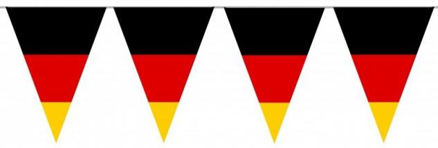 Wimpel Kette Deutschland Flaggen