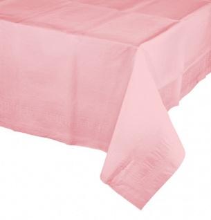 Papier Tischdecke Pastell Rosa
