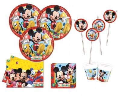 XXL 71 Teile Disney Micky Maus Party Deko Set