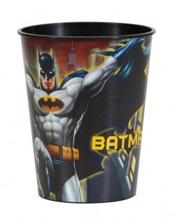 1 Stück stabiler Batman Plastik Becher