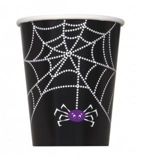 32 Teile Halloween Deko Set Spinnen Netz für 8 Personen - Vorschau 3