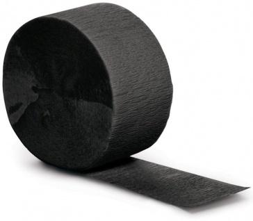 Kreppband Schwarz