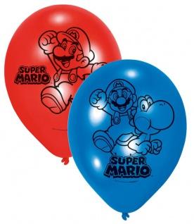 6 Luftballons Super Mario