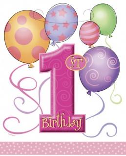 Erster Geburtstag Party Tüten