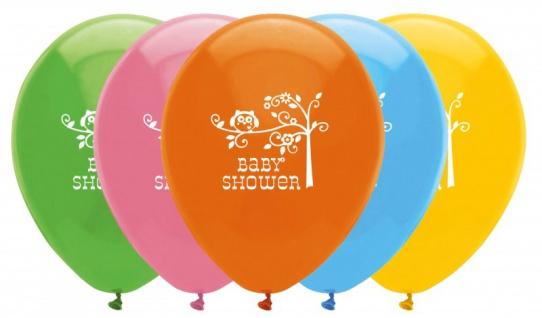 6 Baby Eule Luftballons