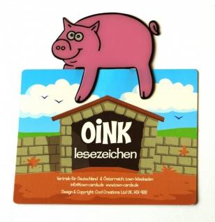 Schwein Lesezeichen