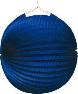 Lampion in Blau