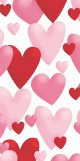 10 Herzchen Papier Taschentücher