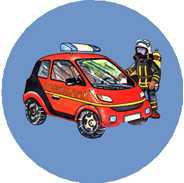 Feuerwehr Magnet