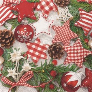20 weihnachtliche Servietten Weihnachts Allerlei