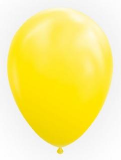 10 Luftballons in Gelb 30cm