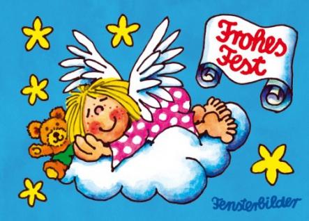 Fensterbild Postkarte Himmlischer Traum