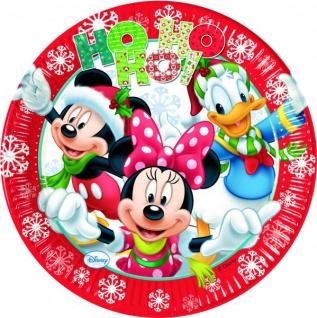 63 Teile Disneys Micky und Minnie Weihnachts Deko Set 16 Kinder - Vorschau 2