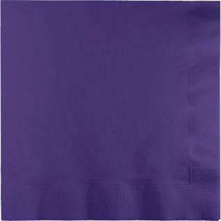50 Servietten Violett 3-lagig