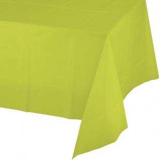 Tischdecke Neon Grün