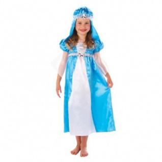 Weihnachtskostüm Maria Einheitsgröße ca. 110