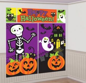 XXL Wandposter Happy Halloween