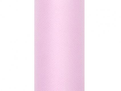 Tüll Pastell Rosa 0, 15 x 9m Tischläufer