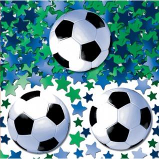 XL 64 Teile Fußball Halbzeit Party Deko Set für 16 Personen - Vorschau 4