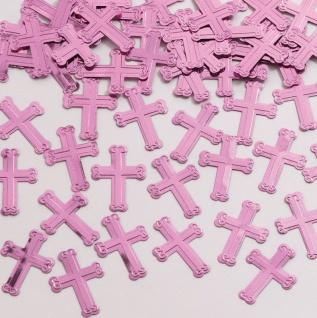 Kreuze Konfetti in Rosa