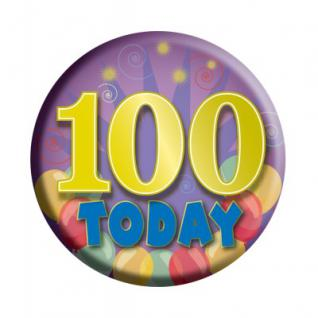 Geburtstags Button 100