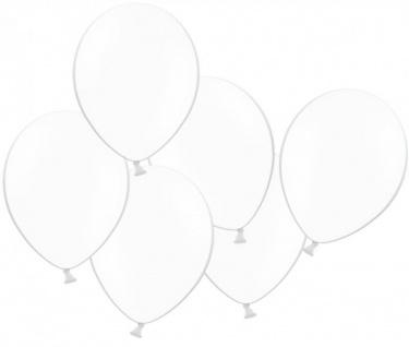 10 Luftballons Weiß
