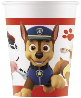 8 Papp Becher Paw Patrol Ready for Action