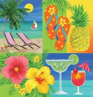 Tischdecke Hawaii Party