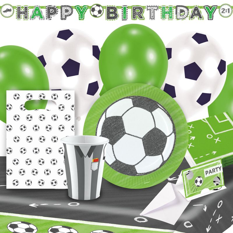 4m Geburtstag /& Party Wimpelkette Kicker Party AMSCAN 9903019