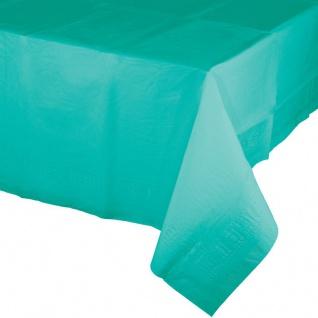 Papier Tischdecke Lagunen Blau