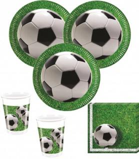 36 Teile Fußball Party Deko Set Stadionrasen 8 Personen